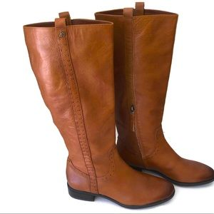 Sam Edelman knee length boots.size 9.5. Leather.